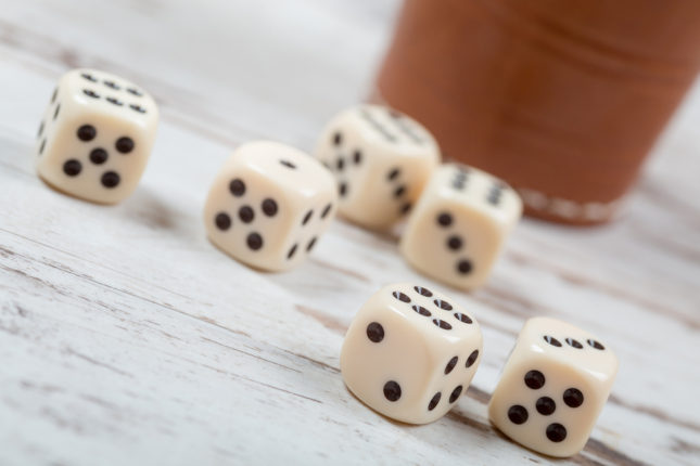 Dice cup