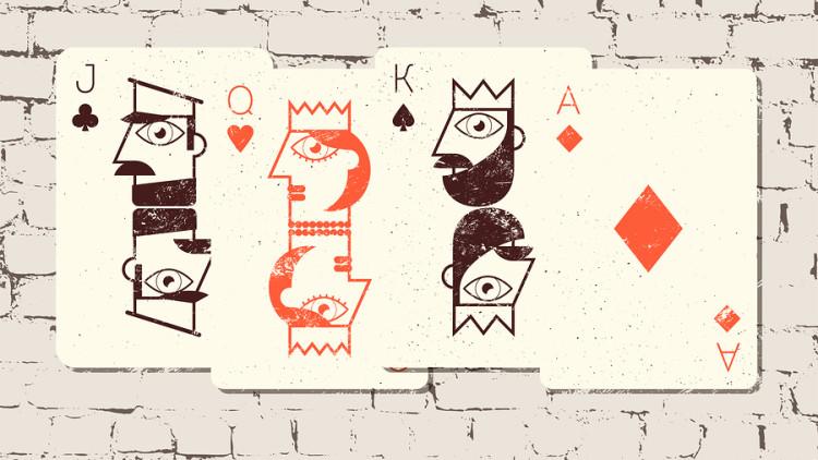 Türkisches Kartenspiel